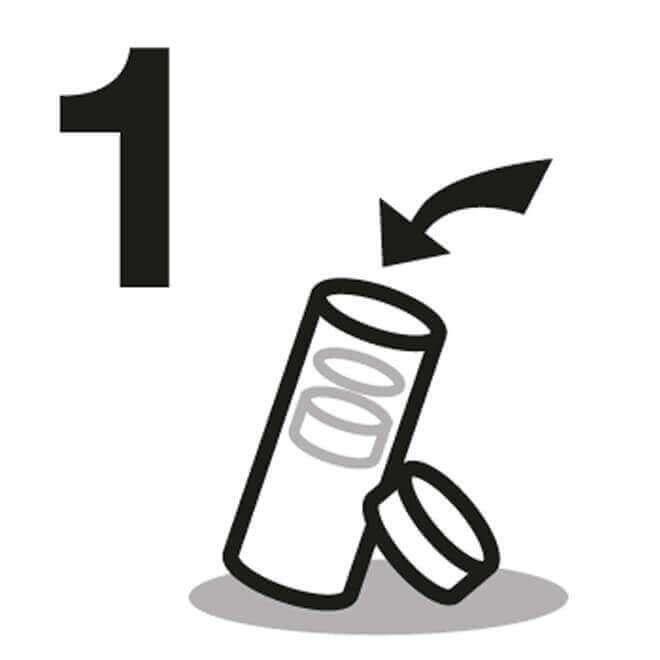 Glastrinkflaschen Anleitung 1
