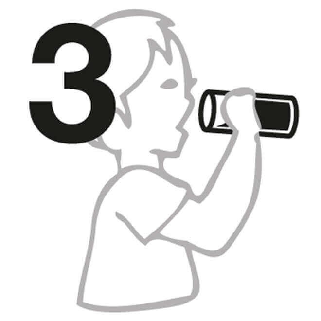 Glastrinkflaschen Anleitung 3